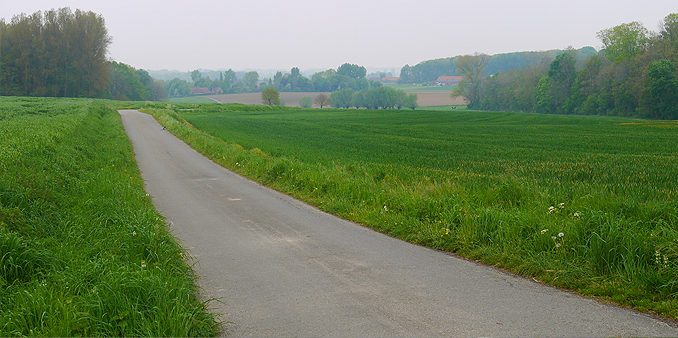 Countryside near Wytschaete Village